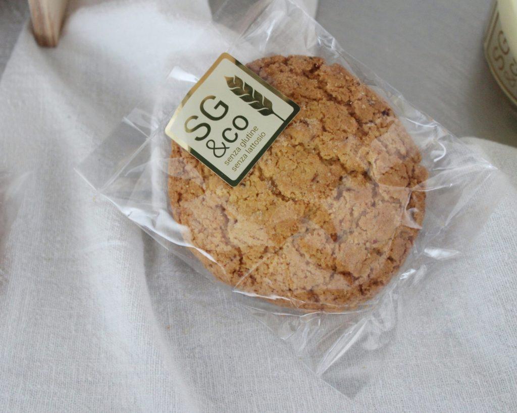 cookie vegan senza glutine senza lattosio